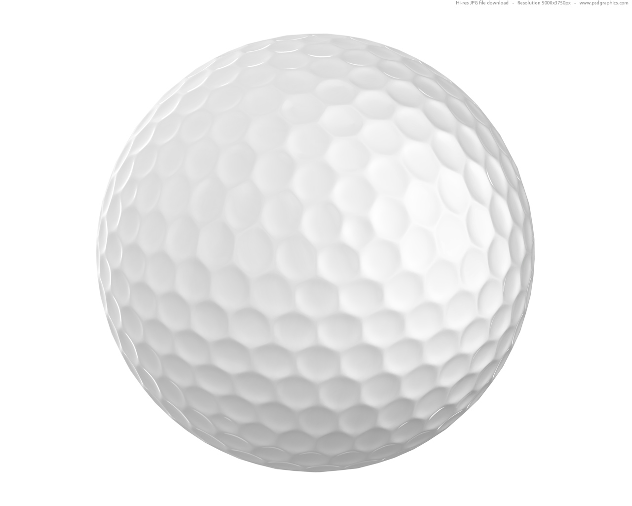 white-golf-ball