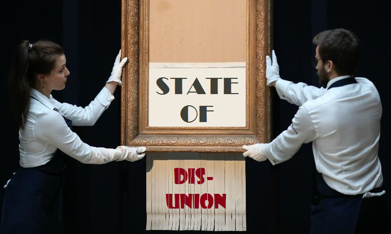 """Nancy Pelosi and Artist """"Banksy"""" Cause Stir with Latest Art Project"""